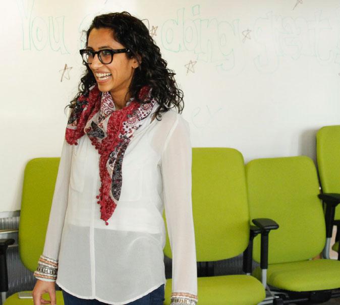 Foodstand CEO Rachna Govani, Desai Accelerator Winter 2017 Cohort